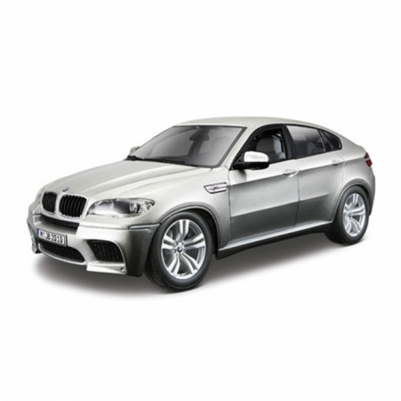Авто-конструктор - BMW X6M (серебристый, 1:18)