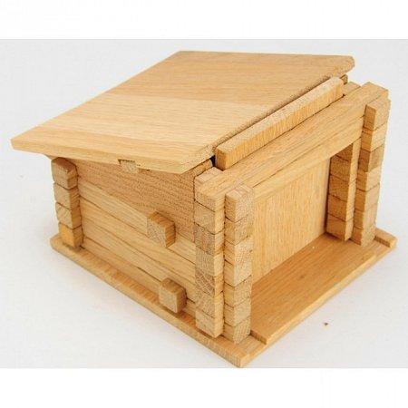 Деревянный конструктор Гараж, 49 деталей