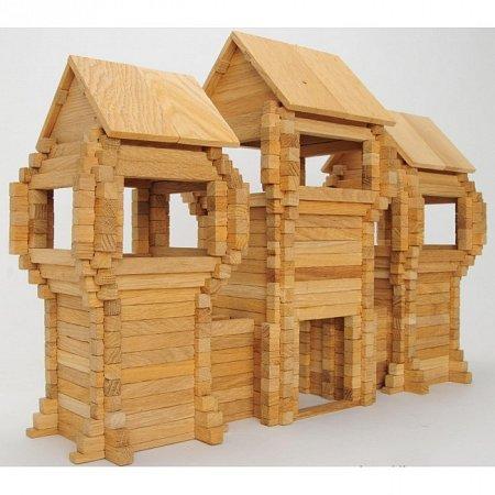 Деревянный конструктор Центральные врата, 378 деталей