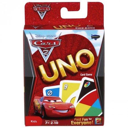 УНО Тачки 2 (UNO Cars 2) Mattel