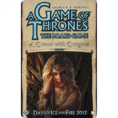 A Game of Thrones Board Game 2nd Edition: A Dance with Dragons