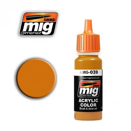 Акриловая краска Ammo A.MIG-039 Light Rust