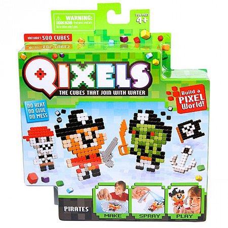 Аквамозаика из пикселей, Пираты (600 кубиков), Qixels, 87041