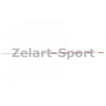 Антенна (1шт) для сетки волейбольной C-3261 (стекловолокно, l-1,8м, d-10мм, белый-красный)