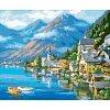 Австрийский пейзаж, серия Городской пейзаж, рисование по номерам, 40 х 50 см, Идейка, KH2143