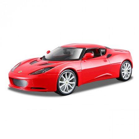Авто-конструктор Bburago - LOTUS EVORA S IPS (красный металлик, 1:24), 18-25110