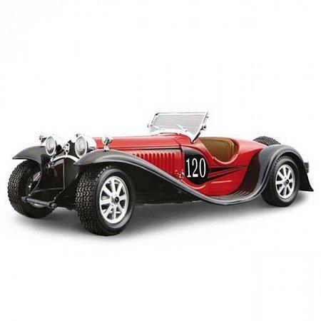 Авто-конструктор - BUGATTI TYPE 55 (1932) (красный, 1:24), BBURAGO (18-25035)