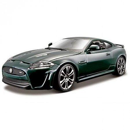 Авто-конструктор - Jaguar XKR-S (темно-зелений, 1:24), Bburago (18-25118)