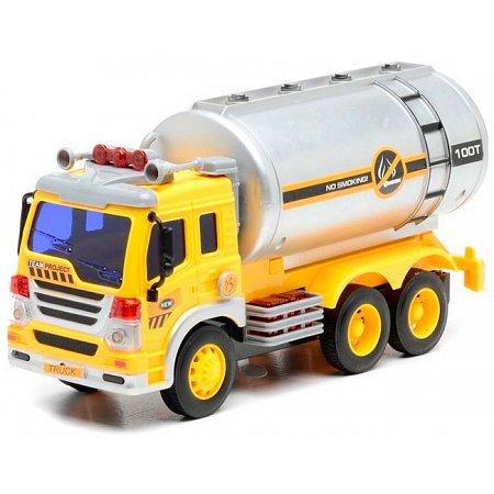 Автоцистерна со светом и звуком (28 см), Junior trucker, 33022