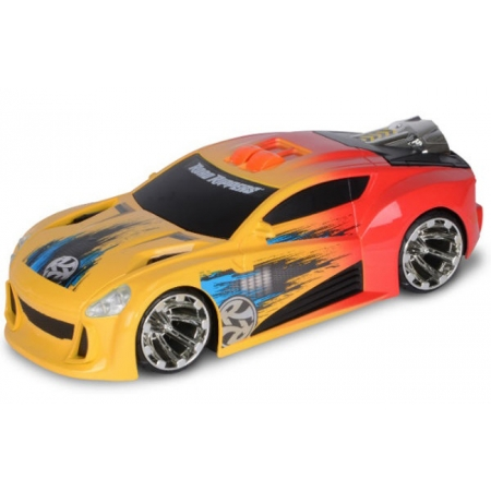 Автомобиль Форсаж со светом и звуком оранжевый 27 см, Toy State, 33346