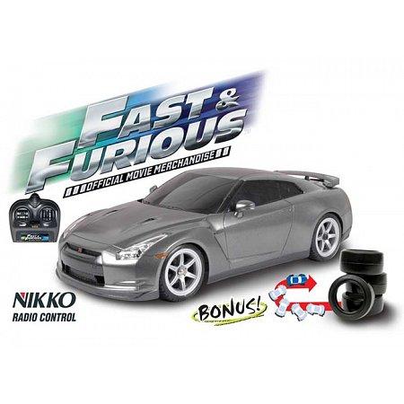 Автомобиль на р/у Nissan GTR 1:16, Nikko 160228E2