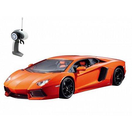 Автомобиль на радиоуправлении - LAMBORGHINI AVENTADOR LP 700-4 (оранжевый, 1:16), AULDEY (LC258050-4)