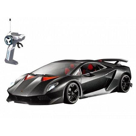 Автомобиль на радиоуправлении - LAMBORGHINI SESTO ELEMENTO (черный, 1:28), AULDEY (LC296040)