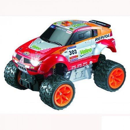 Автомобиль на радиоуправлении - MITSUBISHI 2006 DAKAR PAJERO EVOLUTION RALLY (1:28), AULDEY (LC297010)
