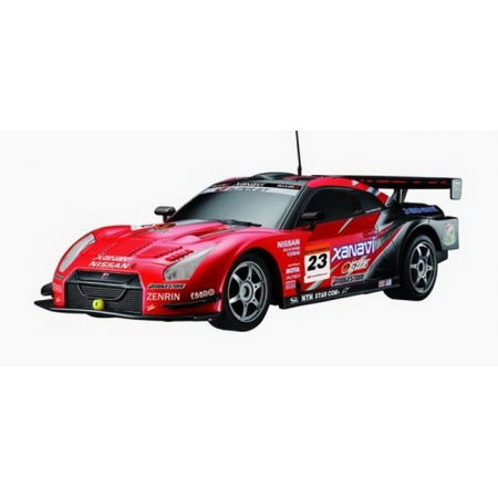 Автомобиль радиоуправляемый - 2008 NISSAN GT-R SUPER GT (красный, 1:16), Auldey LC258790-2