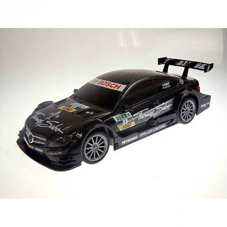 Автомобиль радиоуправляемый - DTM MERCEDES-BENZ C-CLASS COUPE AMG (чёрный, 1:16), Auldey LC258610-0