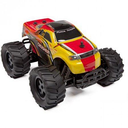 Автомобиль радиоуправляемый с пультом-перчаткой - CRUSHER (красный, 1:16, аккумулятор), PaulG 7-904/02R