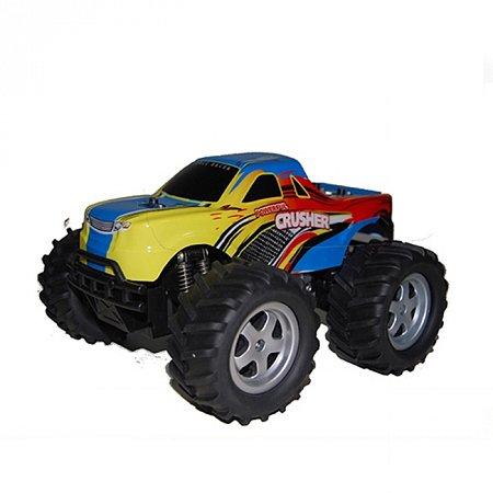 Автомобиль радиоуправляемый с пультом-перчаткой - CRUSHER (синий, 1:16, аккумулятор), PaulG 7-904/02B
