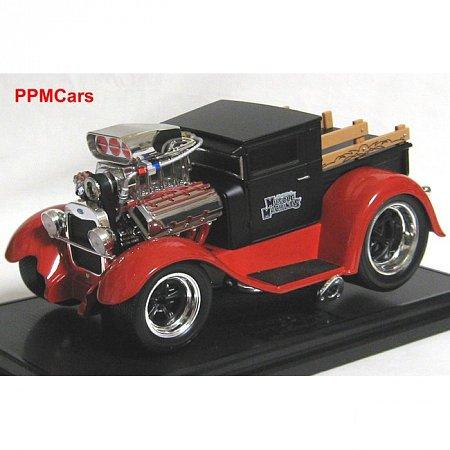 Автомодель (1:18) 1929 Ford Pick-up Truck чёрно-красный. Maisto 32201 black-red