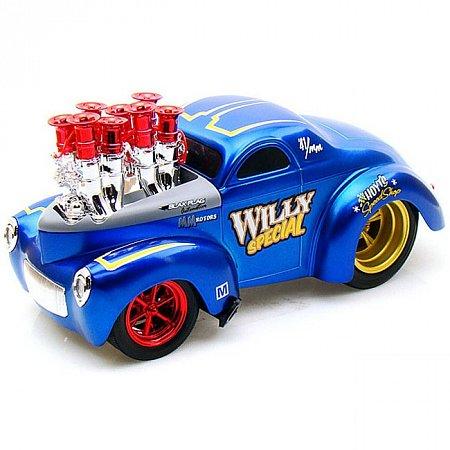 Автомодель (1:18) 1941 Willys Coupe синий. Maisto 32202 blue