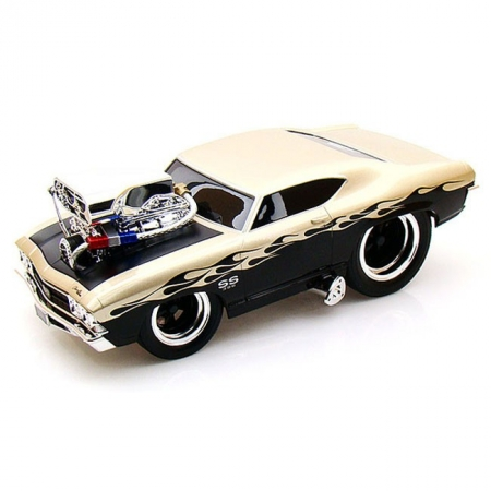 Автомодель (1:18) 1969 Chevrolet Chevelle золотистый. Maisto 32205 gold