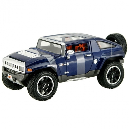Автомодель (1:18) 2008 HUMMER Hx Concept (синий металлик). Maisto 36171 met.blue