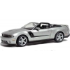 Автомодель (1:18) 2010 Roush 427 Ford Mustang Convertible серебристый, Maisto 31669 silver