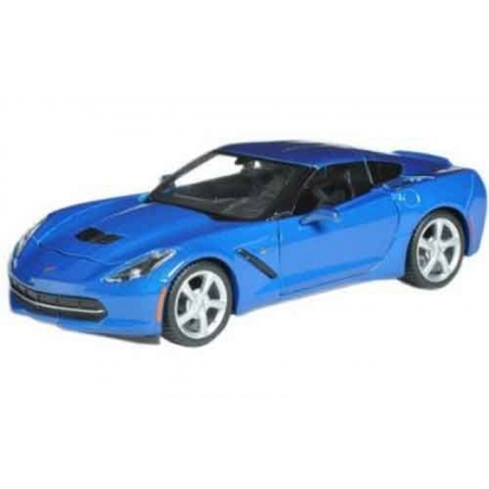 Автомодель (1:18) 2014 Corvette Stingray синий, Maisto 31182 blue