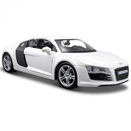 Автомодель (1:18) Audi R8 (белый). Maisto 36143 white