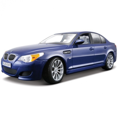 Автомодель (1:18) BMW M5 (синий металлик). Maisto 31144 met. Blue