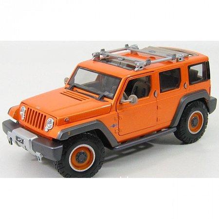 Автомодель (1:18) Jeep Rescue Concept (оранжевый металлик). Maisto 36699 met. orange