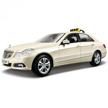 Автомодель (1:18) Mercedes Benz E-ClassGerman Taxi version (светло-жёлтый). Maisto 36191 lt. yellow