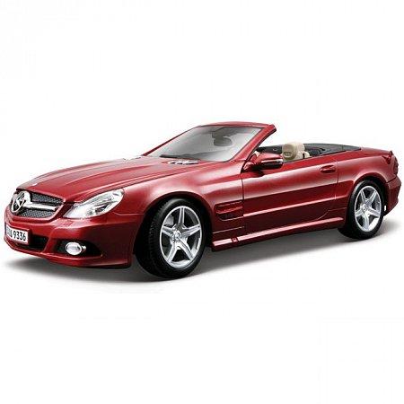Автомодель (1:18) Mercedes-Benz SL550 (красный). Maisto 31169 red
