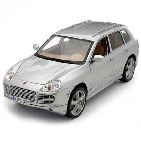Автомодель (1:18) Porsche Cayenne серый металлик, Maisto 31675MG