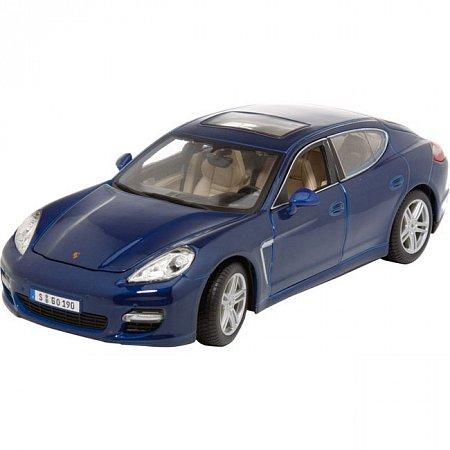 Автомодель (1:18) Porsche Panamera Turbo (синий металлик). Maisto 36197 met. blue