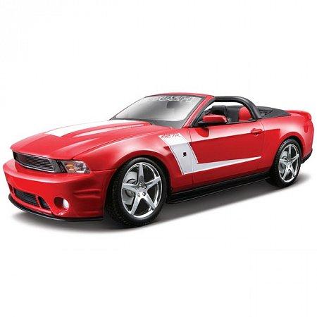Автомодель (1:18) Roush 427 Ford Mustang Convertible (красный). Maisto 31669 red