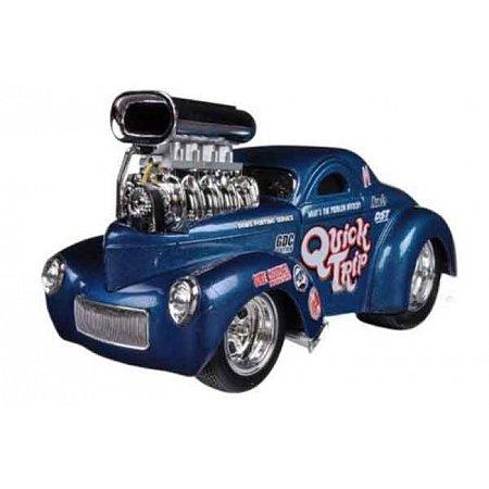 Автомодель (1:24) 1941 Willys Coupe синий, Maisto 32237 blue