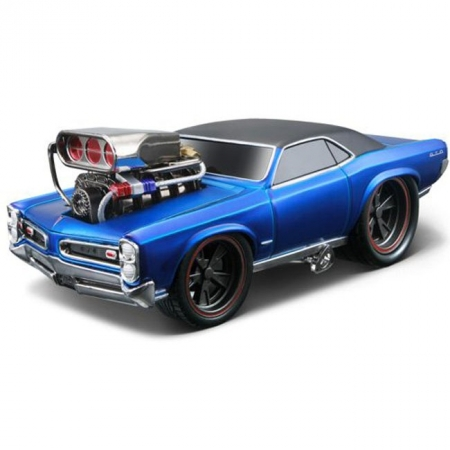 Автомодель (1:24) 1966 Pontiac GTO. Maisto 32234 blue
