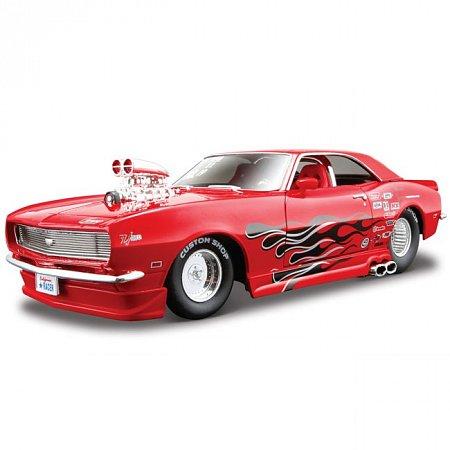 Автомодель (1:24) 1968 Chevrolet Camaro Z/28 (тюнинг). Maisto 31304 red