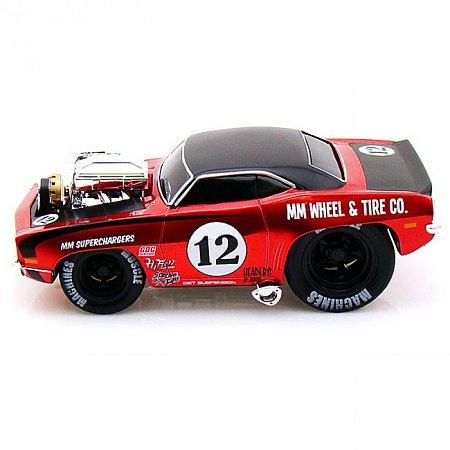 Автомодель (1:24) 1969 Chevrolet Camaro. Maisto 32231 red/black