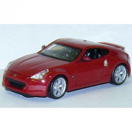Автомодель (1:24) 2009 Nissan 370Z. Maisto 31200 red