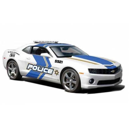 Автомодель (1:24) 2010 Chevrolet Camaro SS RS Police белый, Maisto 31208 white