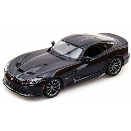 Автомодель (1:24) 2013 SRT Dodge Viper GTS, чёрный, Maisto 31271 black