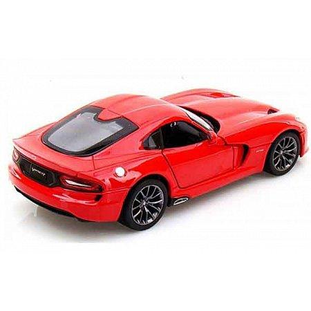 Автомодель (1:24) 2013 SRT Dodge Viper GTS, красный, Maisto 31271 red