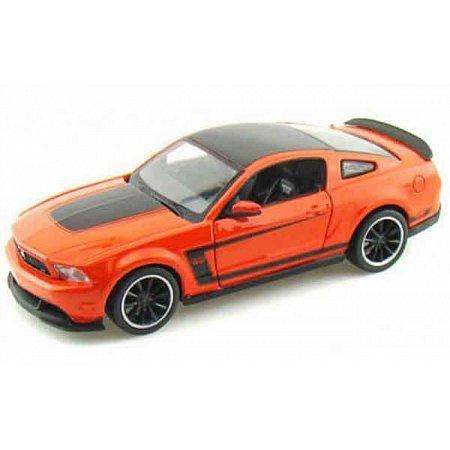 Автомодель (1:24) Ford Mustang Boss 302 оражевый, Maisto 31269 orange