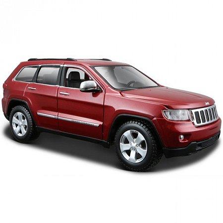 Автомодель (1:24) Jeep Grand Cherokee 2011. Maisto 31205 met. red
