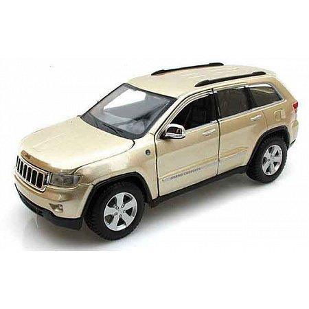 Автомодель (1:24) Jeep Grand Cherokee 2011 золотистый, Maisto 31205 gold