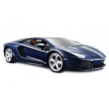 Автомодель (1:24) Lamborghini Aventador LP700-4 синий металлик, Maisto 31210 met. blue