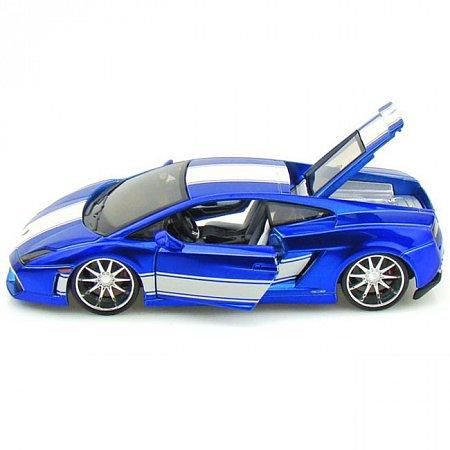 Автомодель (1:24) Lamborghini Gallardo LP560-4 (тюнинг). Maisto 31352 blue