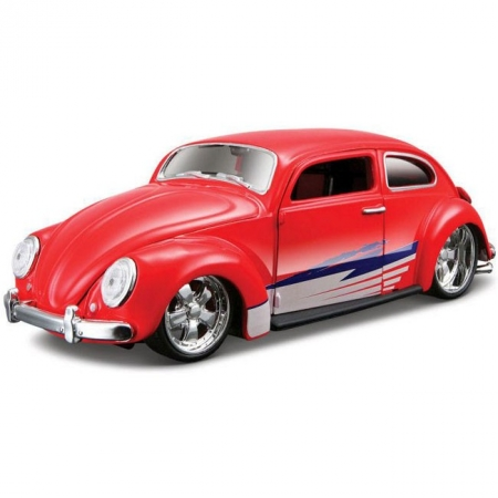 Автомодель (1:24) Volkswagen Beetle. Maisto 31023 red